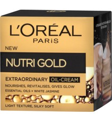 L'Oréal - Nutri Gold Extraordinary Oil-Cream - Day Cream 50 ml