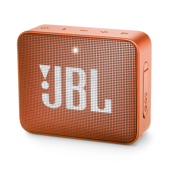 JBL - GO 2 Bluetooth Højtaler Coral Orange