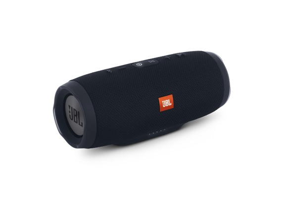 ​JBL - Charge 3 Stealth Edition