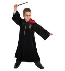 Rubies - Deluxe Harry Potter Kappe - Gryffindor - Large (7-8 år)