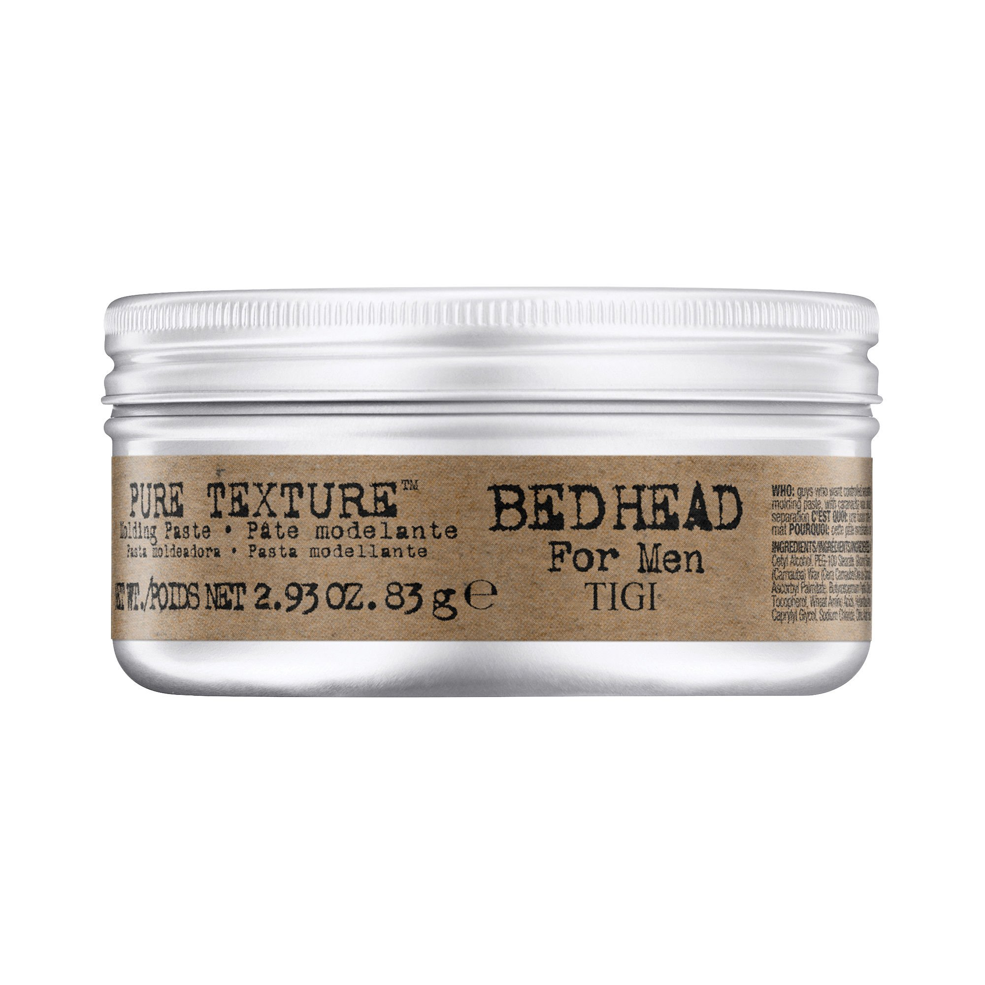 TIGI - Bed Head For Men Pure Texture Molding Paste