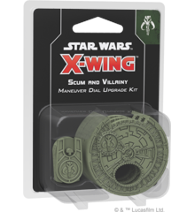 Star Wars - X-Wing - 2nd Edition - Scum and Villainy - Manual Dial Up