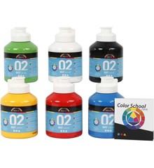 A-Color - Acrylic Paint - Matt - 6 x 500 ml (32132)