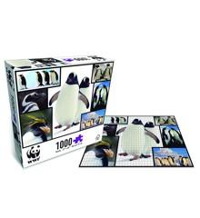 WWF - Puslespil - Pingviner (1000 brk.)