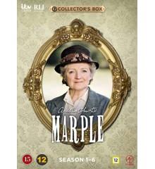 Agatha Christie's Marple: Sæson 1-6 (Afsnit 1-23) (12-disc) - DVD