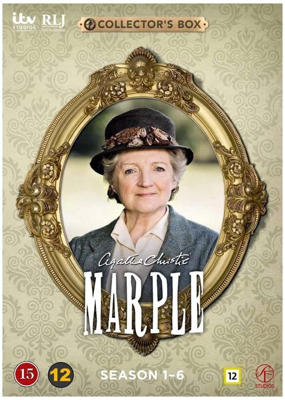 Agatha Christie's Marple: Season 1-6 (Afsnit 1-23) (12-disc) - DVD