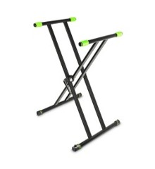 Gravity - KSX 2 -Dobbel 'X' Keyboard Stativ