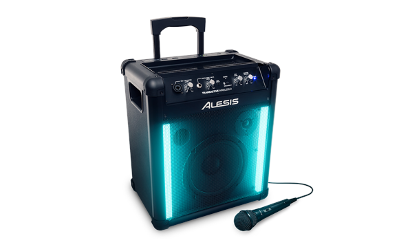 Alesis - Transactive Wireless 2 - Transportabelt PA System M. Mikrofon