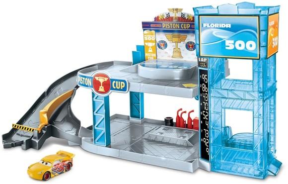 Cars - Florida 500 Racing Garage Playset (FWL70)