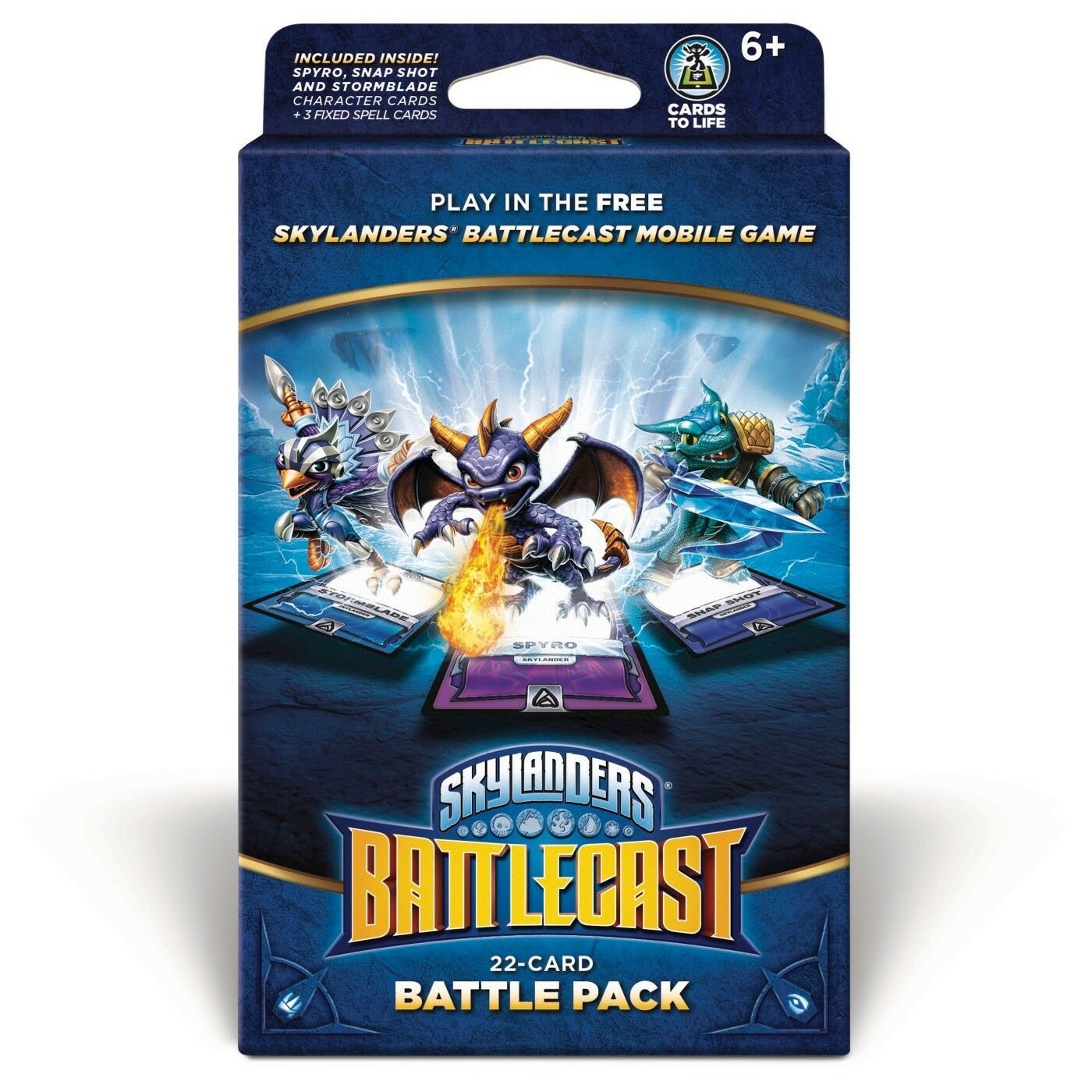 Skylanders Battlecast 22 Card Battle Pack A