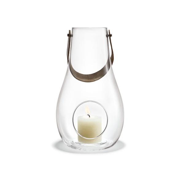 Holmegaard - Design With Light Lantern 29,3 cm - Clear (4343500)