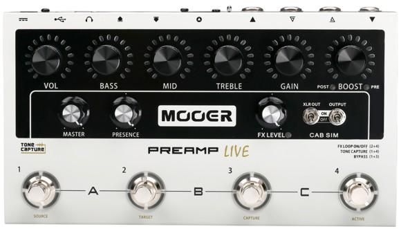 Mooer - Preamp Live - Guitar Multi Effekt Pedal