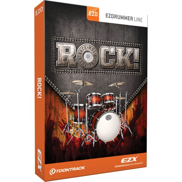 Toontrack - EZX Rock! - Expansion Pack For EZdrummer (DOWNLOAD)