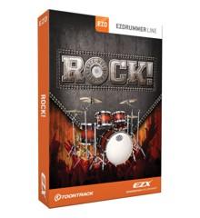 Toontrack - EZX Rock! - Udvidelses Pakke Til EZdrummer (DOWNLOAD)
