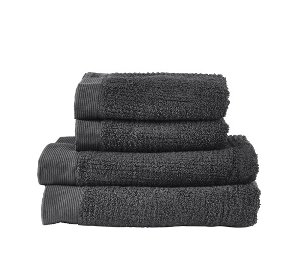 Zone - Classic Towel Set - Anthracite (331879)
