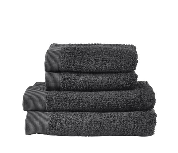 Zone - Classic Towel Set - Anthracite (331879)