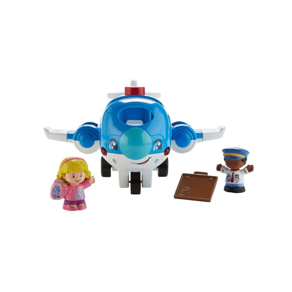 Fisher-Price - Little People - Travle Together Airplane (danish) (FMT31)
