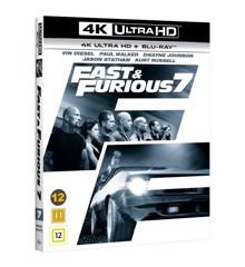 Fast & Furious 7 (4K Blu-Ray)