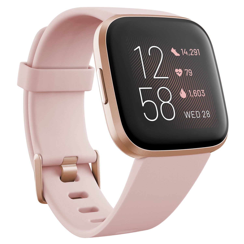 Køb Fitbit - Versa 2 Petal/Copper Rose - Petal/Copper Rose - Inkl. fragt