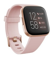 Fitbit - Versa 2  Petal/Copper Rose
