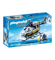 Playmobil - SWAT Helikopter (9363)