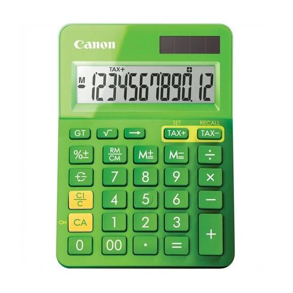 Canon LS-123K Metallic Green Dual Powered Calculator (9490B002AA)