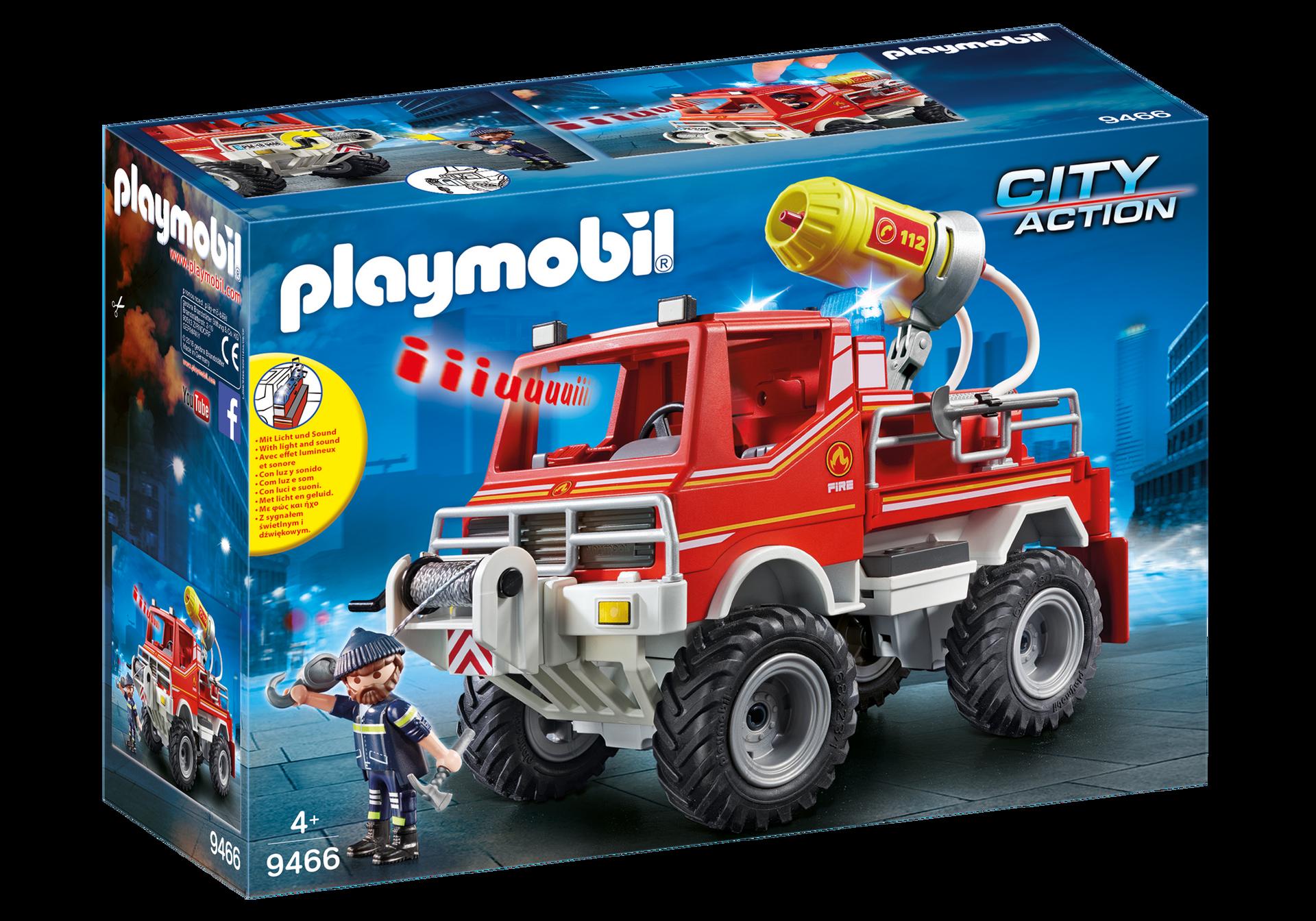 Playmobil - Fire Truck (9466)