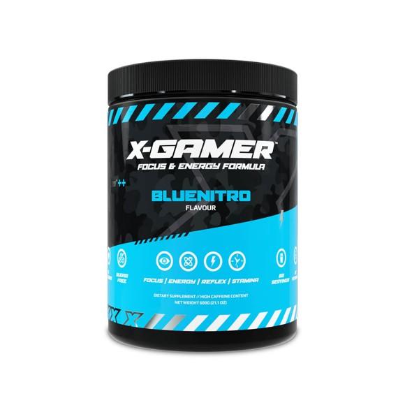 X-GAMER - X-Tubz Bluenitro  Servings 60 (600g)