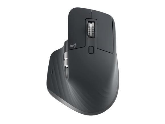Logitech - MX Master 3 Advanced Wireless Mouse Black