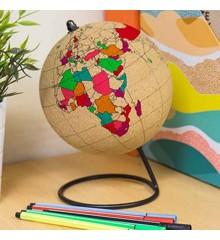 Cork Globe - Color in Globe