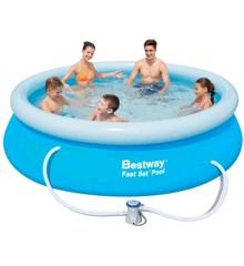 Bestway – Fast Set Pool 305x76cm with pump (57270)