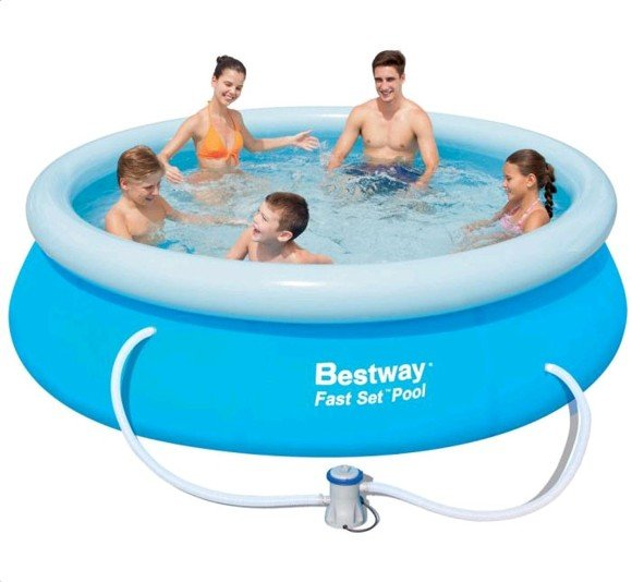 Bestway – Fast Set Pool 305x76cm with pump (57270)