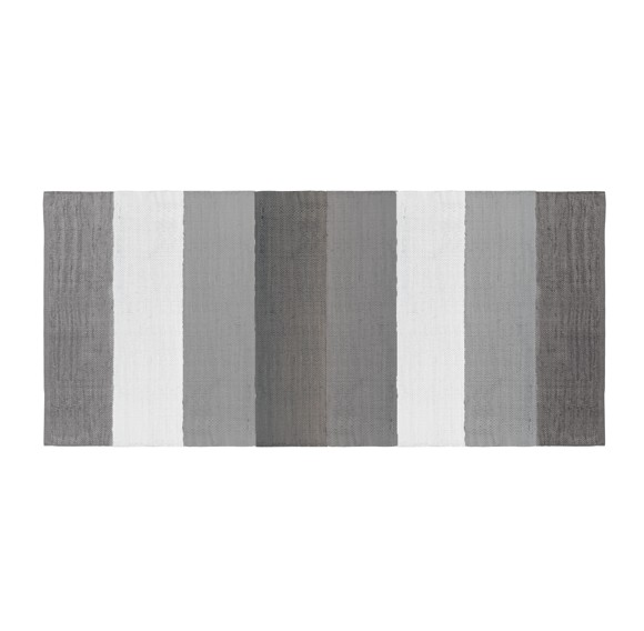 Sebra - Vævet gulvtæppe - Grå (4003302)