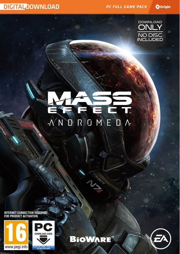 Mass Effect: Andromeda (Code in a Box)(Nordic)