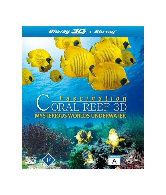 Fascination Coral Reef: Mysterious Worlds Underwater (3D Blu-Ray)
