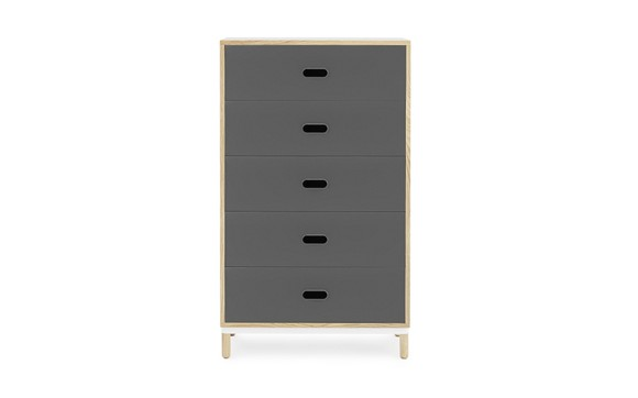 Normann Copenhagen - Kabino Dresser w/5 drawers - Grey (601052)