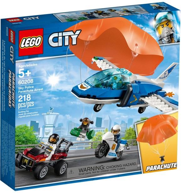 LEGO City - Luftpolitiets faldskærmsanholdelse (60208)