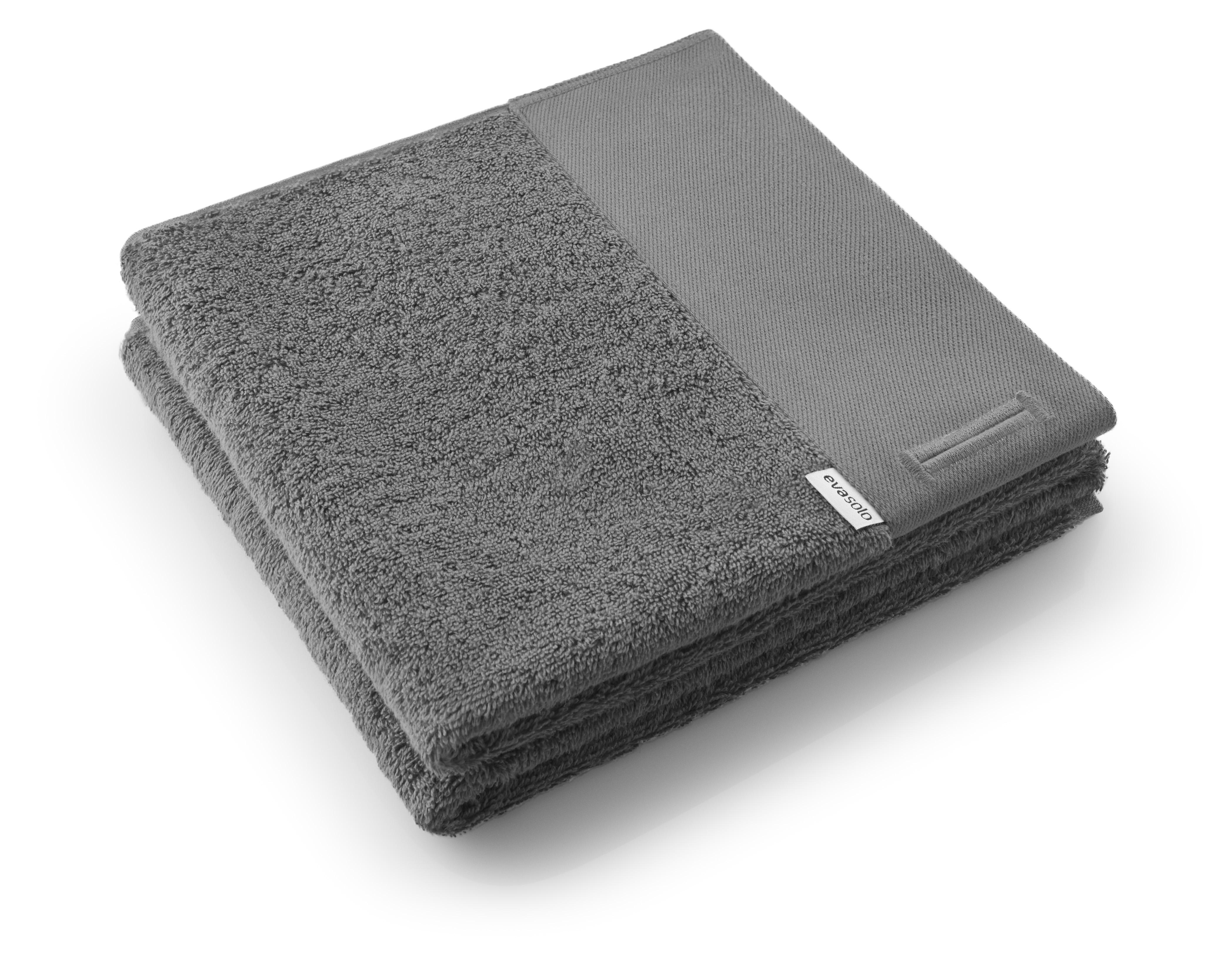 Eva Solo - Towel 50 x 100 cm - Dark Grey (592405)
