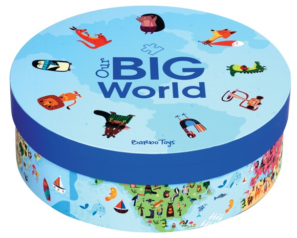 Barbo Toys - Puslespil - Our Big World (200 brk)