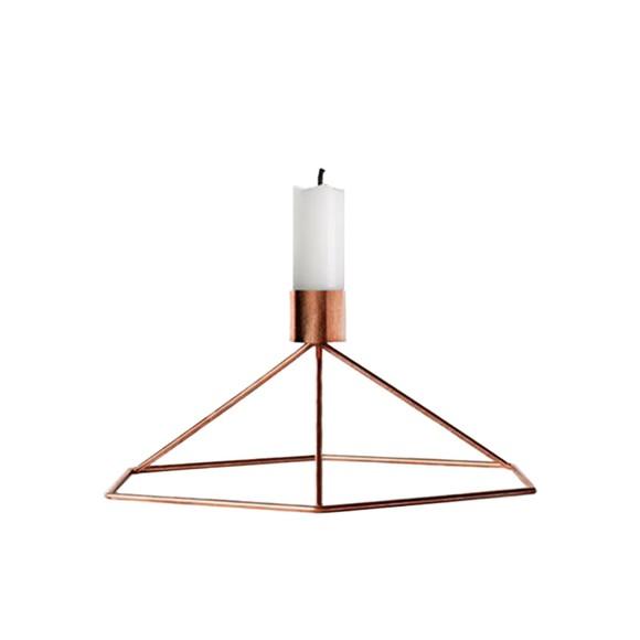 Menu - POV Candleholder Table - Copper (4767239)