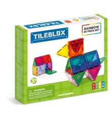 Tileblox - Regnbue - 20 stk sæt (3201)