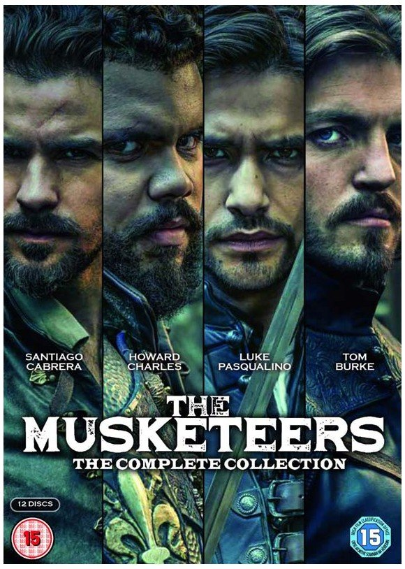 Musketeers, The: The Complete Collection - UK - DVD