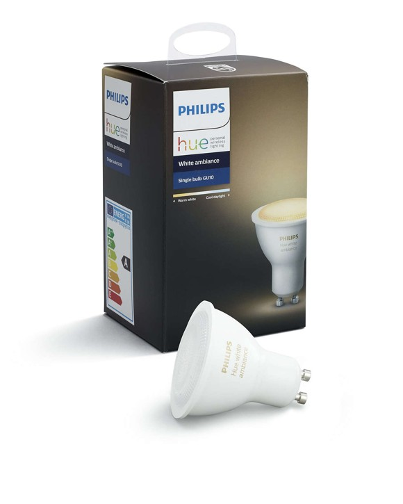 Philips Hue - Single Pære GU10 Hvid