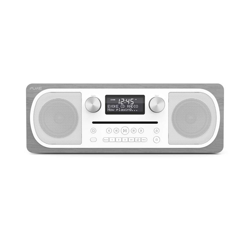 Pure - Evoke C-D6 BT DAB+ Radio  Grey