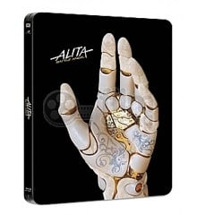 Alita: Battle Angel - Blu ray samt 4K