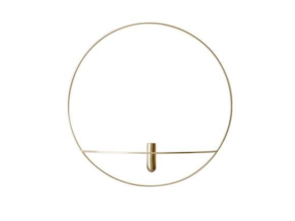 Menu - POV Circle Vase Large - Brass (4815839)