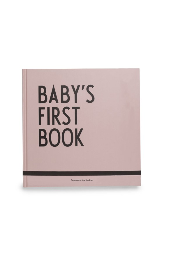 Design Letters - Baby's First Book - Pink