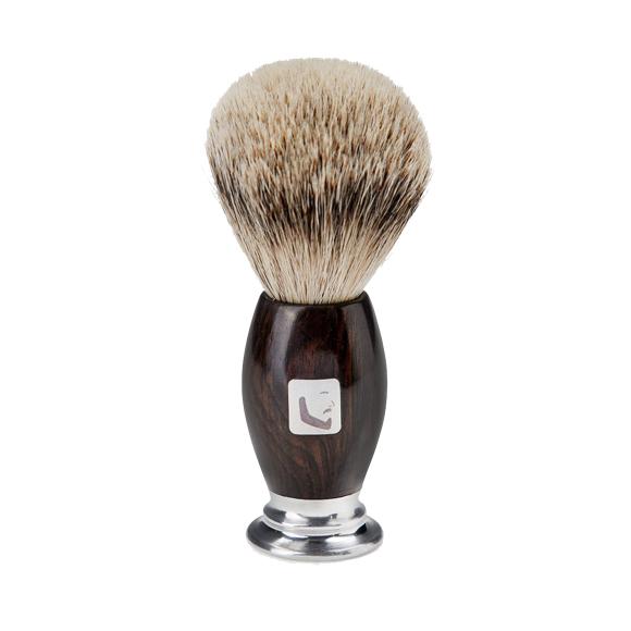 Barberians Copenhagen - Shaving Brush / Silver Tip