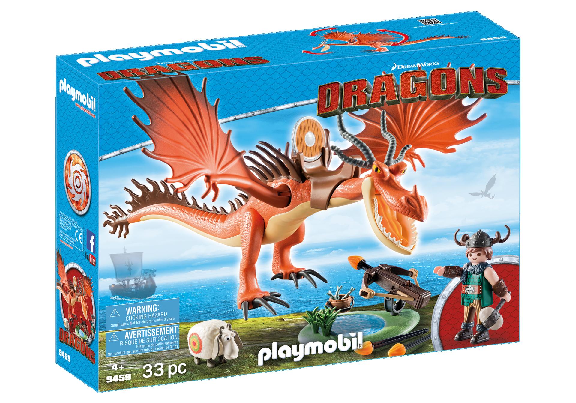 Playmobil - Dragons - Snotlout and Hookfang (9459)