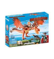 Playmobil - Dragons - Snotlout and Hookfang (9459)
